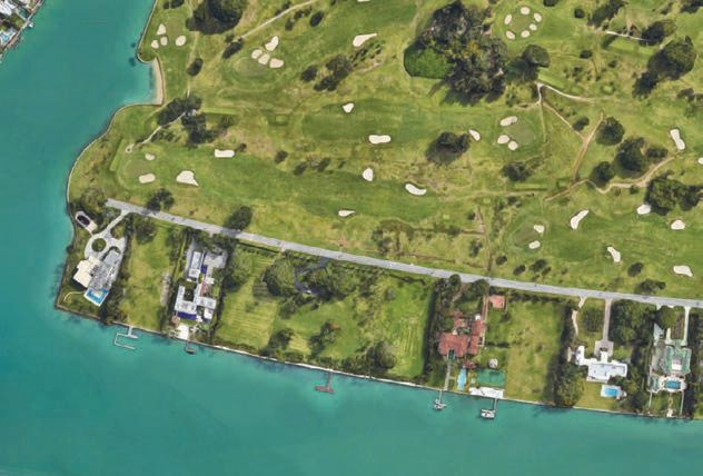 Considering recent events, Trump and Kushner will no doubt enjoy the safety of living at Indian Creek Island, which has its own police force, as well as an armed marine patrol monitoring the waters around the enclave. ISLAND CREEK PHOTO BY GOOGLE