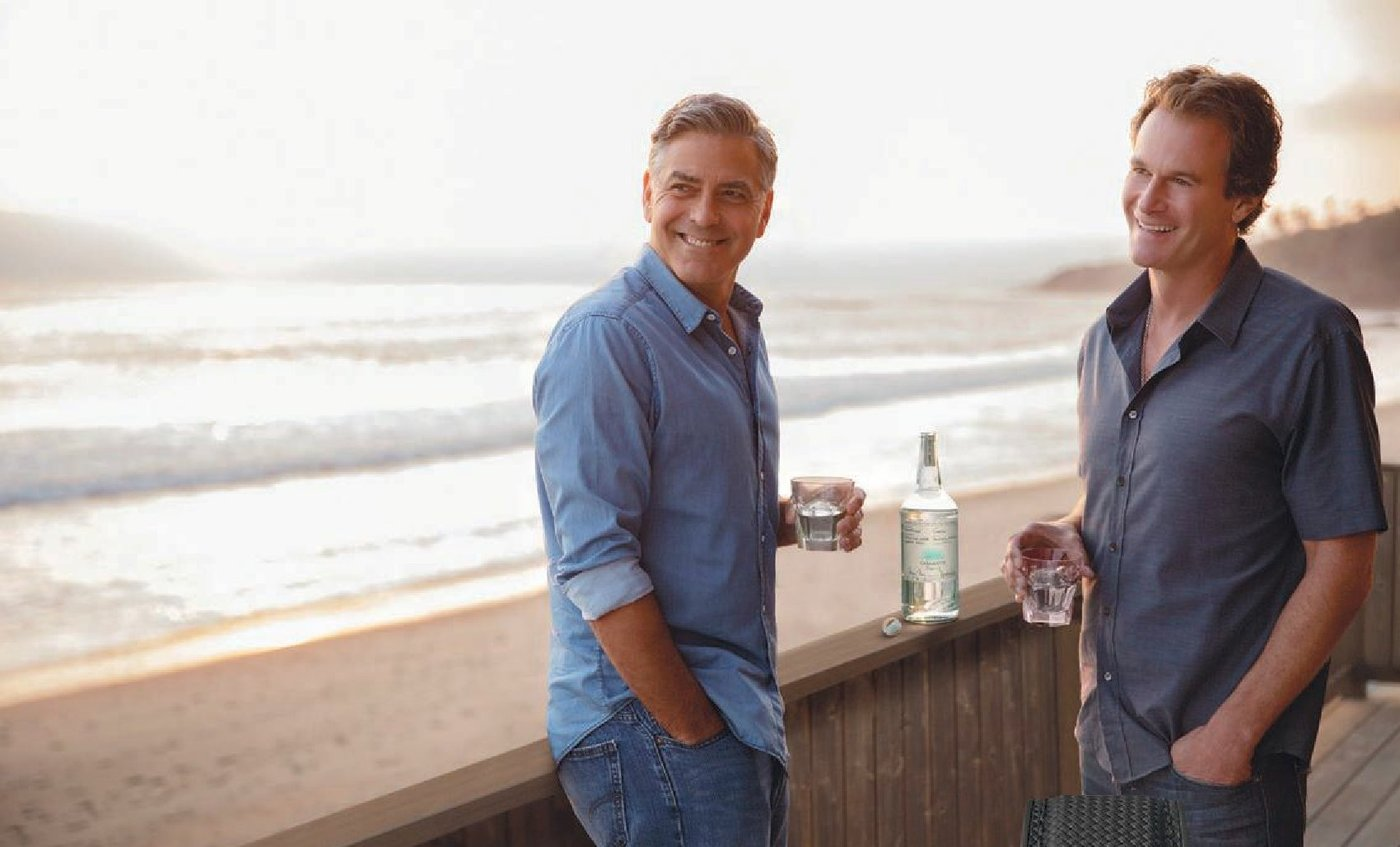 "George Clooney and Rande Gerber created Casamigos ""by accident"" in 2013 and sold it to Diageo for $1 billion in 2017. Th e two still retain their founder roles with the company. PHOTO COURTESY OF BRANDS"