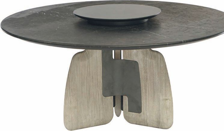 The Aster table from ENNE PHOTO COURTESY OF THE SHOWROOMS