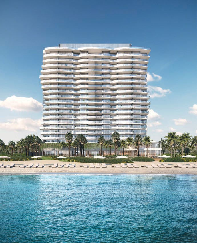 Solemar is bringing luxury vertical living to Pompano Beach. PHOTO COURTESY OF THE PROPERTIES